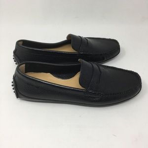 Cole Haan Grant Canoe Moc Toe Penny Loafer Leather